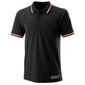 M SINCE 1914 PIQUE POLO black.jpg